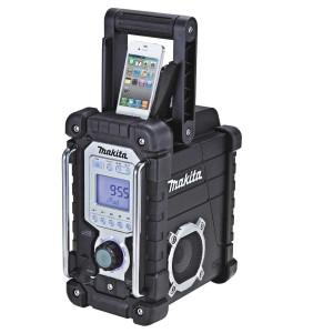 Baustellenradio mit iPod Docking