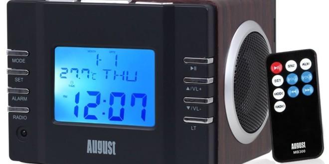 August Mb300 Radiowecker Mp3 Player Im Test Neu