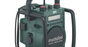 Metabo 602106000 Akku-Baustellenrdio RC