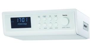 """Hama Internetradio """"IR320"""" als Unterbauradio oder mit Standfunktion verwendbar (Weckfunktion und WLAN)"""